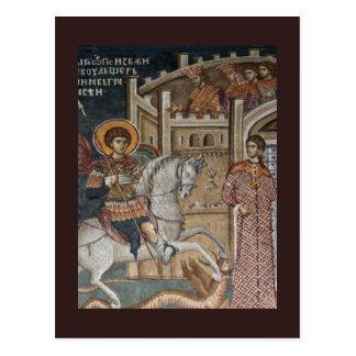 Saint George by the Castle Postcard
