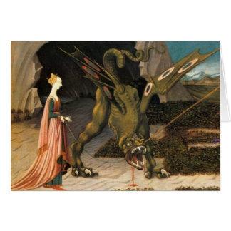 Saint George, Dragon and Princess Cards