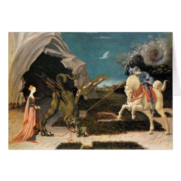 Saint George, Dragon and Princess Card