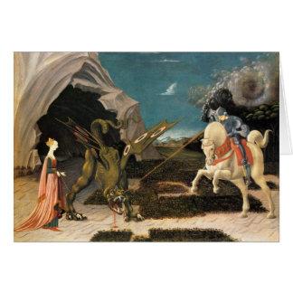 Saint George, Dragon and Princess Greeting Cards