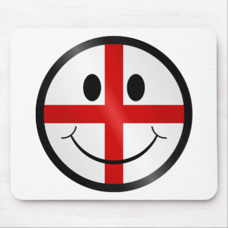 Saint George face Mouse Pad