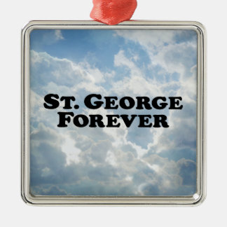 Saint George Forever - Basic Metal Ornament