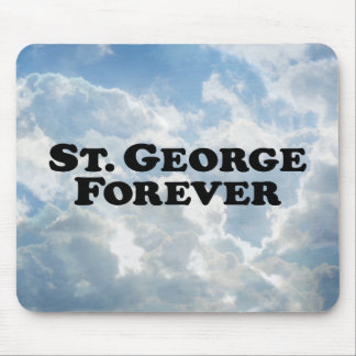 Saint George Forever - Basic Mouse Pad