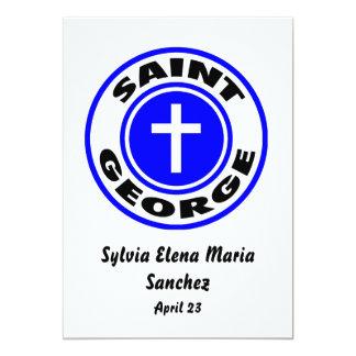 Saint George invite