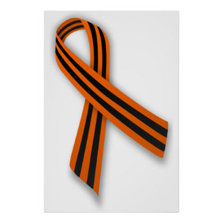 Saint George May 9th Victory Day Ribbon Poster