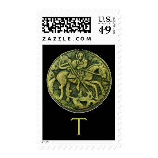 SAINT GEORGE MONOGRAM POSTAGE