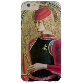 SAINT GEORGE PORTRAIT ,Red,Black,Gold Yellow Barely There iPhone 6 Plus Case