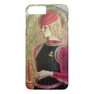 SAINT GEORGE PORTRAIT ,Red,Black,Gold Yellow iPhone 8 Plus/7 Plus Case