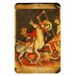 Saint George s Battle with the Dragon Flexible Magnet