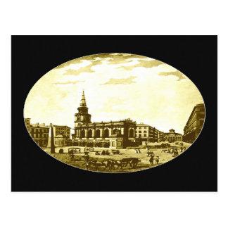 Saint George's Church, and Castle Street, 1792 Postcard