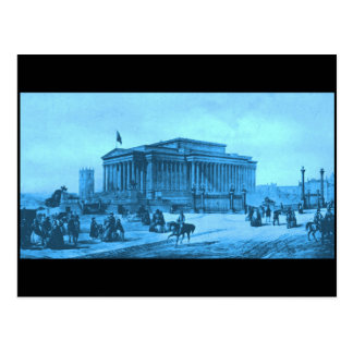 Saint George's Hall, Liverpool, circa 1850s Postcard