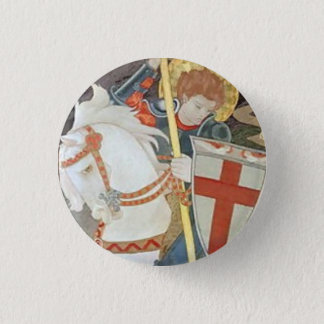 Saint George Slaying the Dragon Button