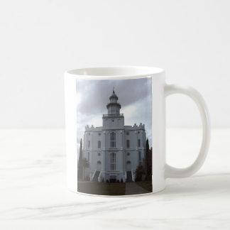 Saint George Temple Classic White Coffee Mug