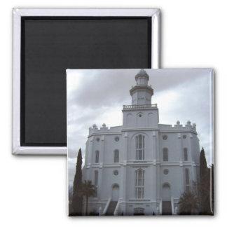 Saint George Temple Magnet