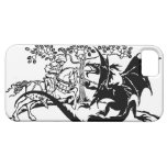 Saint George & The Dragon iPhone 5 Cases