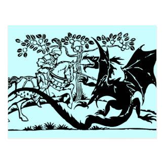 Saint George & The Dragon Postcard