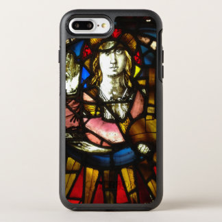 Saint George the Dragon Slayer in Stained Glass OtterBox Symmetry iPhone 7 Plus Case