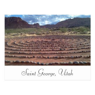 Saint George, Utah Postcard