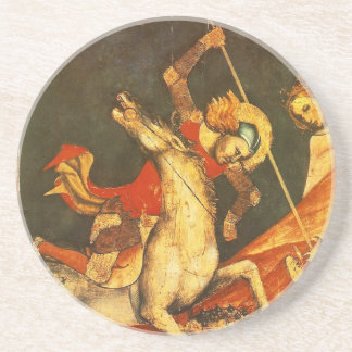 Saint George's Battle with the Dragon Drink Coaster