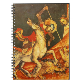 Saint George's Battle with the Dragon Note Books