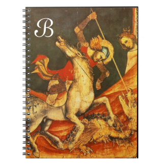 Saint George's Battle with the Dragon Spiral Note Book