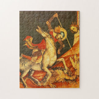 Saint George's Battle with the Dragon Jigsaw Puzzle