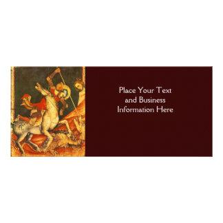 Saint George's Battle with the Dragon Rack Card
