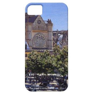 Saint Germain l'Auxerrois by Claude Monet iPhone SE/5/5s Case