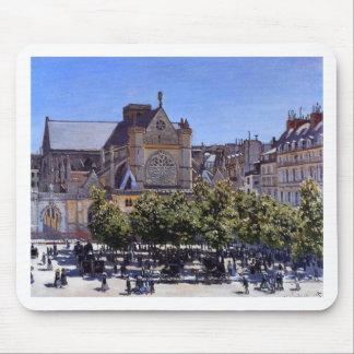 Saint Germain l'Auxerrois by Claude Monet Mouse Pad