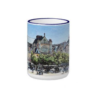 Saint Germain l'Auxerrois Claude Monet Coffee Mugs