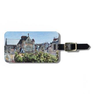 Saint Germain l'Auxerrois Claude Monet Tag For Bags