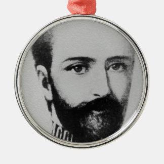 Saint Germain Metal Ornament