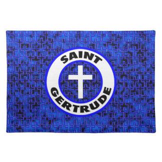 Saint Gertrude Cloth Placemat