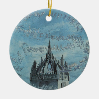 Saint Giles - His Bells by Charles Altamont Doyle Ceramic Ornament