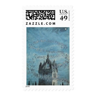 Saint Giles - His Bells by Charles Altamont Doyle Postage Stamp