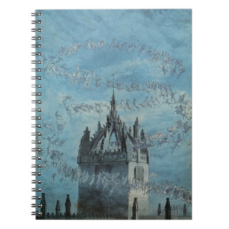 Saint Giles - His Bells by Charles Altamont Doyle Spiral Note Book