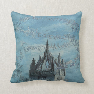 Saint Giles - His Bells by Charles Altamont Doyle Throw Pillow