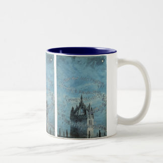 Saint Giles - His Bells by Charles Altamont Doyle Two-Tone Coffee Mug