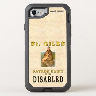 SAINT GILES (Paton Saint of the Disabled) OtterBox Defender iPhone 8/7 Case