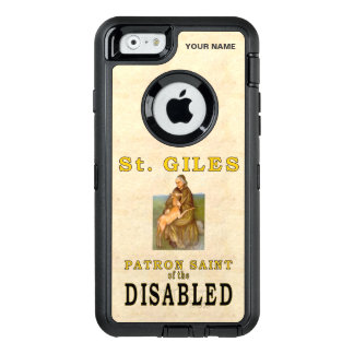 SAINT GILES (Paton Saint of the Disabled) OtterBox Defender iPhone Case
