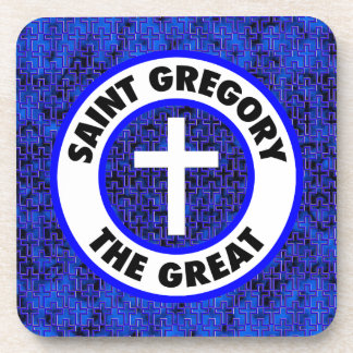 Saint Gregory the Great Beverage Coaster
