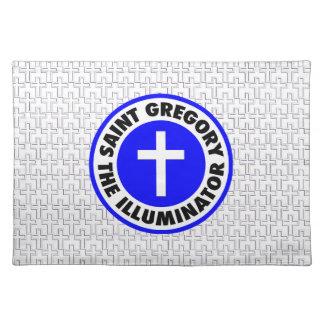 Saint Gregory the Illuminator Cloth Placemat
