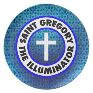 Saint Gregory the Illuminator Dinner Plate