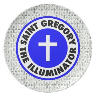 Saint Gregory the Illuminator Dinner Plates