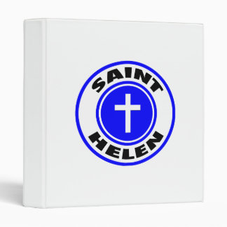 Saint Helen 3 Ring Binder