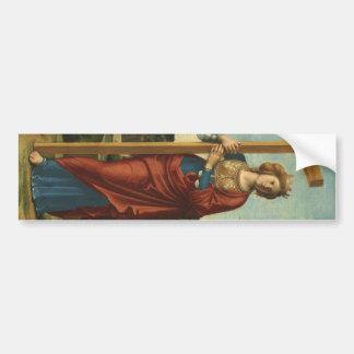 Saint Helena - Cima da Conegliano Bumper Sticker