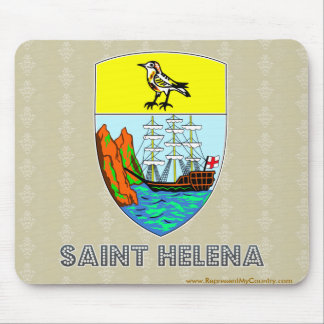 Saint Helena Coat of Arms Mouse Pad