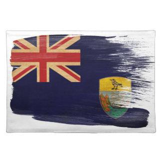Saint Helena Flag Cloth Placemat