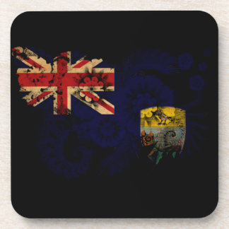 Saint Helena Flag Drink Coaster