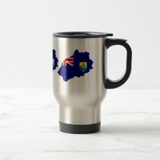 Saint Helena Flag Map full size Coffee Mugs